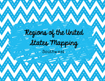 Southwest Mapping Activity