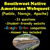 Southwest Native Americans Webquest (Pueblo, Navajo, and Apache)