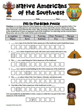 Southwest Native American Modified Research