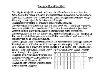 Southwest Pueblos Treasure Hunt Game