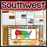 US Regions: Southwest Region Distance Learning