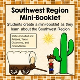Southwest Region Unit Activity Booklet or Interactive Notebook Lesson Worksheets