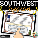 Southwest Region Boom Cards Distance Learning
