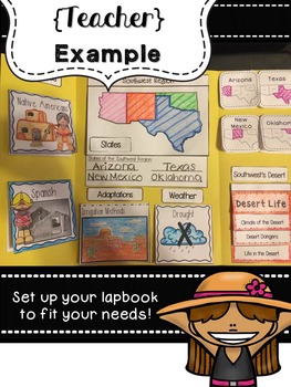 Southwest Region Lapbook & Interactive Notes
