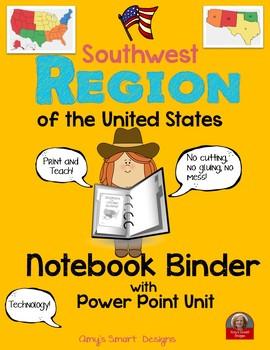 Southwest Region PowerPoint and Notebook Binder Bundle