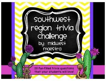 Southwest Region Trivia Challenge!