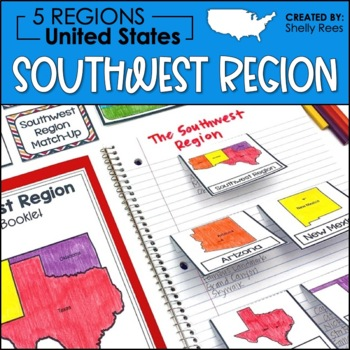 Regions of the United States - Southwest Region - US Regions