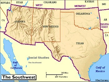 Southwest Region United States