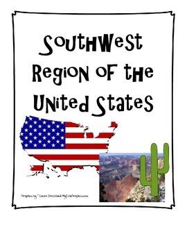 Southwest Region of the United States
