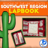 Southwest Region of the United States Lapbook or Interactive Notebook