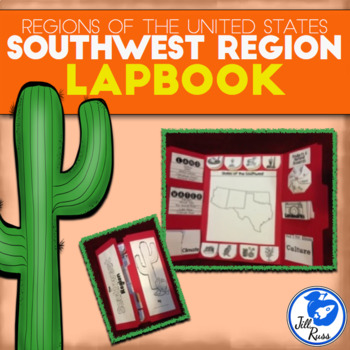 Southwest Region of the United States Lapbook or Interacti