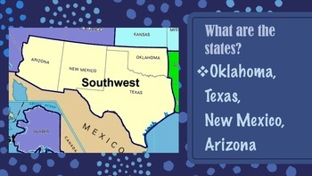 Southwest Region of the United States Presentation
