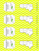 Southwest United States Bookmarks with States, Capitals, and Abbreviations