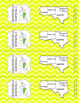 Southwest States Bookmarks with States, Capitals, and Abbr