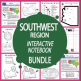 The Southwest Region Interactive Notebook Bundle + AUDIO! (4 Southwest States)