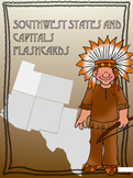 Southwest States and Capitals Flashcards