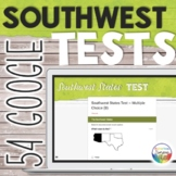 Southwest United States Capitals Tests Quizzes for Google