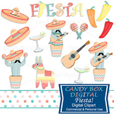 Southwestern Mexican Fiesta Clip Art