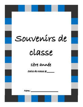 Souvenirs de classe- yearbook