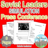 Soviet Leaders Press Conference Simulation (World History / Geography)