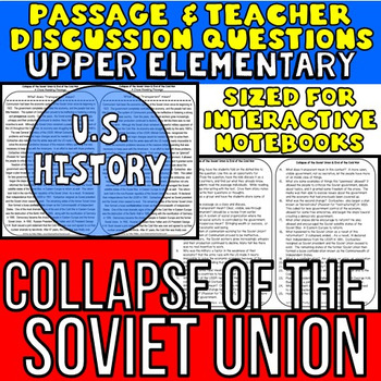 Collapse of Soviet Union: Non-Fiction Reading Passage: US History