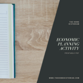 Soviet Union Economic Planning Activity