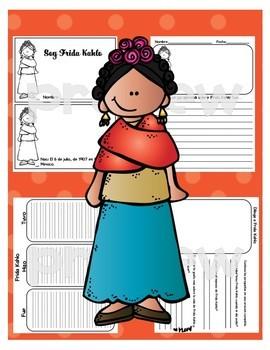 Soy Frida Kahlo Spanish