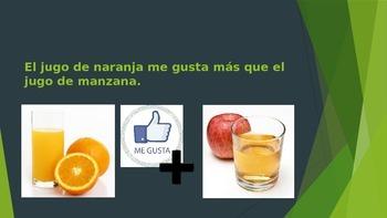 Soy Yo! Spanish Food Vocabulary Activity Realidades 3A