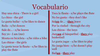 Soy yo - a story/song mini unit for Spanish 1 (or above)