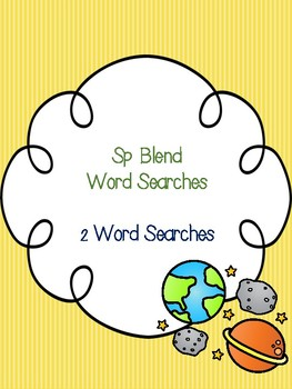 Sp Blend Word Searches!
