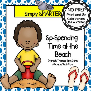 Sp-Spending Time at the Beach:  NO PREP Beach Themed Blend