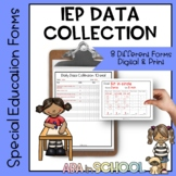 SpEd Daily Goal Data Tracking
