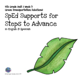 SpEd Supports for 4th Grade Steps to Advance Unit 5 Week 3