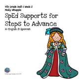 SpEd Supports for 4th Grade Steps to Advance Unit 6 Week 2