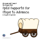SpEd Supports for 4th Grade Steps to Advance Unit 7 Week 3