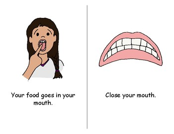 SpEd: food chewing lesson