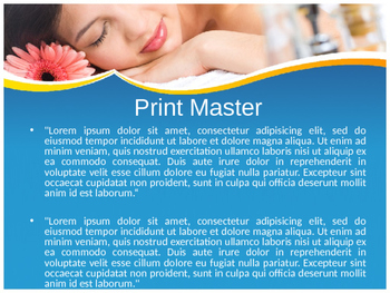 Spa PPT Template