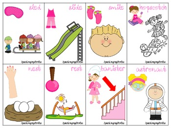 Spa Party S-Blends for Speech Therapy