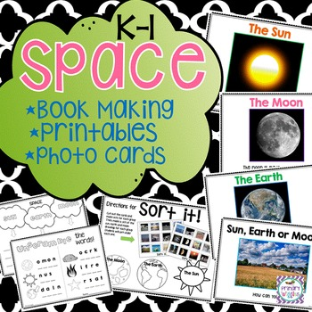 Space Unit for Kindergarten and 1st Grade