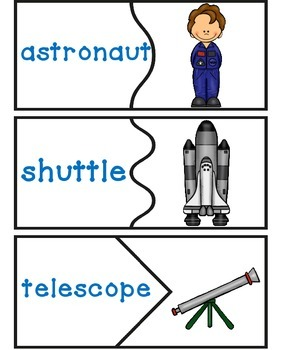 Outer Space Center | Outer Space Worksheet | Ideas