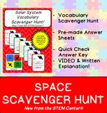 Space Scavenger Hunt Game