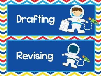 Space 2 Writing Process Chart