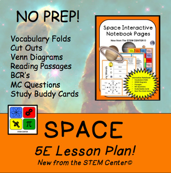 Space 5 E Lesson Plan By The STEM Center Teachers Pay Teachers