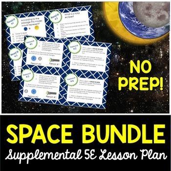 Space 5E Bundle - Complete Lesson Plans - NO LABS
