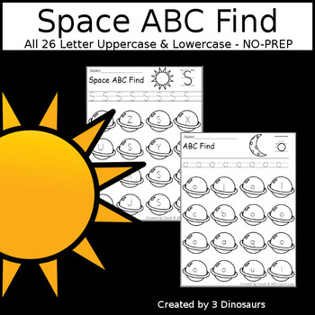 Space ABC Letter Find