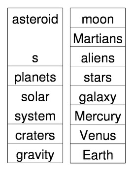 Space ABC Order