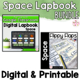 Space Activities Interactive Notebook Digital and Printabl