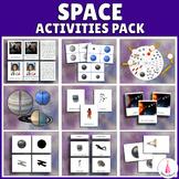 Space Activities Montessori Bundle