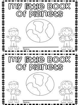 Space Activities (No Prep Book, Mini Book, and Worksheets)