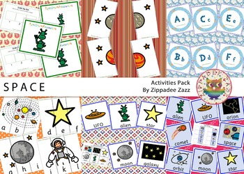 Space Activity / Resources Pack-71 Printables/Worksheets/G